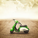 Mini motor bike for children Royalty Free Stock Image