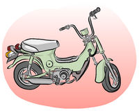 Mini Motorbike vector Royalty Free Stock Images