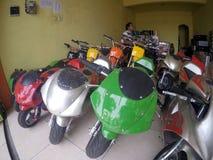 Mini- motorcykel Royaltyfri Bild