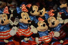 Mini Mouse Toys in Disney-opslag Stock Foto