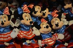 Mini Mouse Toys i det Disney lagret Arkivfoto