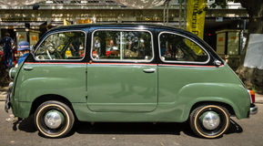 Mini MPV Fiat 600 Multipla Obraz Stock