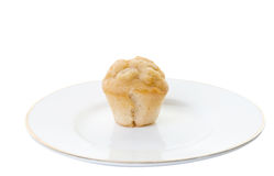 Mini muffin isolated on white Stock Photos