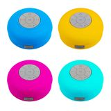 Mini Multicolour Waterproof Bluetooth Wireless Loudspeaker with Royalty Free Stock Images