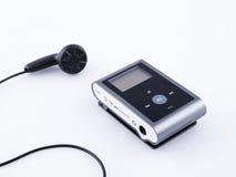 Mini musica del portatile MP3 fotografia stock libera da diritti