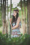 Mini native american Indigenous concept Royalty Free Stock Photos