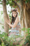 Mini native american Indigenous concept Royalty Free Stock Photo