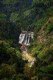 Mini Niagara a appelé la cascade de Malela de la distance image stock