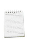 Mini notepad Stock Photography