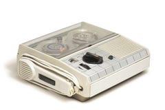 Mini Old Tape Recorder 01 Immagini Stock