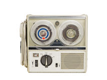 Mini Old Tape Recorder 02 Stock Photography