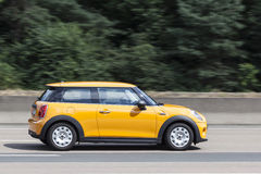 Mini One on the road Royalty Free Stock Images