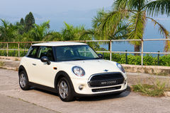 Mini One 2014 Test Drive Stock Photography