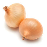 Mini onions isolated on white Royalty Free Stock Image