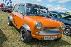Mini orange classique Images stock