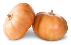 Mini Orange Pumpkins Stock Images