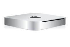 Mini ordenador del mac de Apple Imágenes de archivo libres de regalías