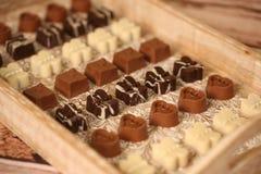 Mini ossequi del cioccolato Fotografia Stock Libera da Diritti