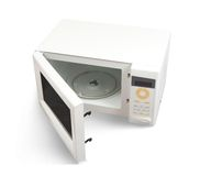 Mini oven over white Stock Photography
