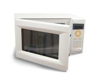 Mini oven over white Stock Photo