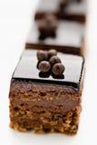 Mini pâtisseries douces Images stock