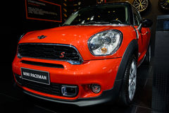 Mini Paceman, 2014 CDMS Lizenzfreie Stockfotos