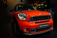 Mini Paceman on 2014 CDMS Royalty Free Stock Photo