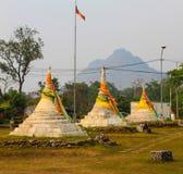 Mini pagoda. Close up Mini pagoda in thailand Royalty Free Stock Photo