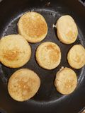 Mini pancake fotografie stock