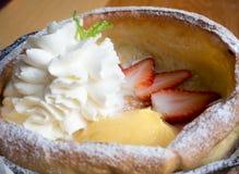 Mini pancake Immagini Stock