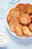 Mini pancake Royalty Free Stock Photos