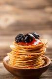 Mini pancakes Royalty Free Stock Photos
