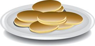 Mini pancakes Royalty Free Stock Photo