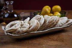 Mini pane della pita Immagini Stock