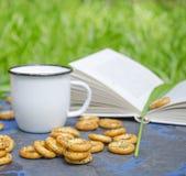 Mini panecillos con las semillas de amapola Fotos de archivo libres de regalías