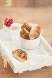 Mini panes del queso Imagen de archivo libre de regalías