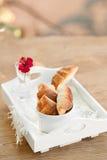 Mini panes del queso Imagenes de archivo