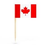 Mini Paper Canada Pointer Flag representación 3d Fotos de archivo libres de regalías