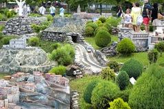 Mini Park in Rimini, Italien Lizenzfreies Stockbild