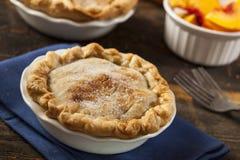 Mini Peach Pie Dessert imagens de stock