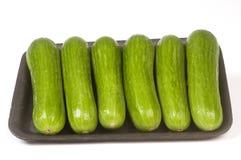 Mini pepinos persas Imagens de Stock Royalty Free
