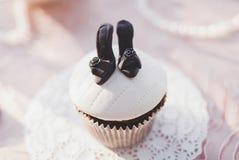 Mini petit gâteau savoureux Image stock