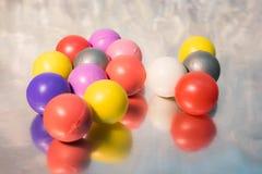 Mini piłka fotografia stock