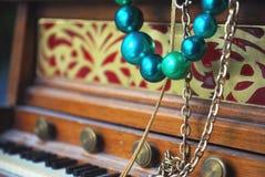 Mini pianina wciąż życie Obrazy Royalty Free