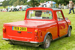 Mini pickup at Ripley Castle. Royalty Free Stock Photo