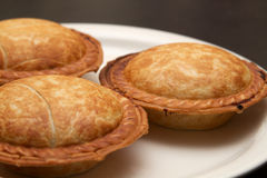 Mini Pies Stock Photography