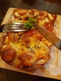 Mini pizza Photos stock