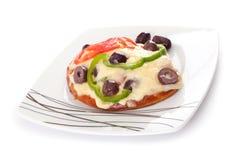 Mini pizza Royalty Free Stock Image