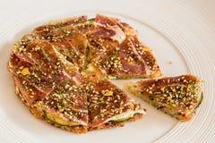 Mini-pizza Immagine Stock