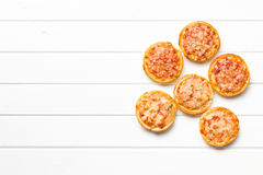 Mini pizza Foto de Stock Royalty Free